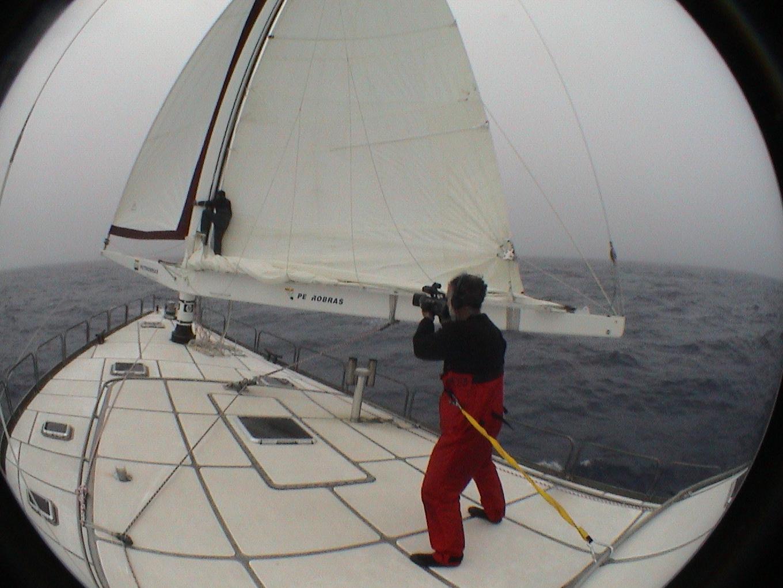 Volta ao mundo sem escalas com o veleiro Parati II. foto: Junior Rameck