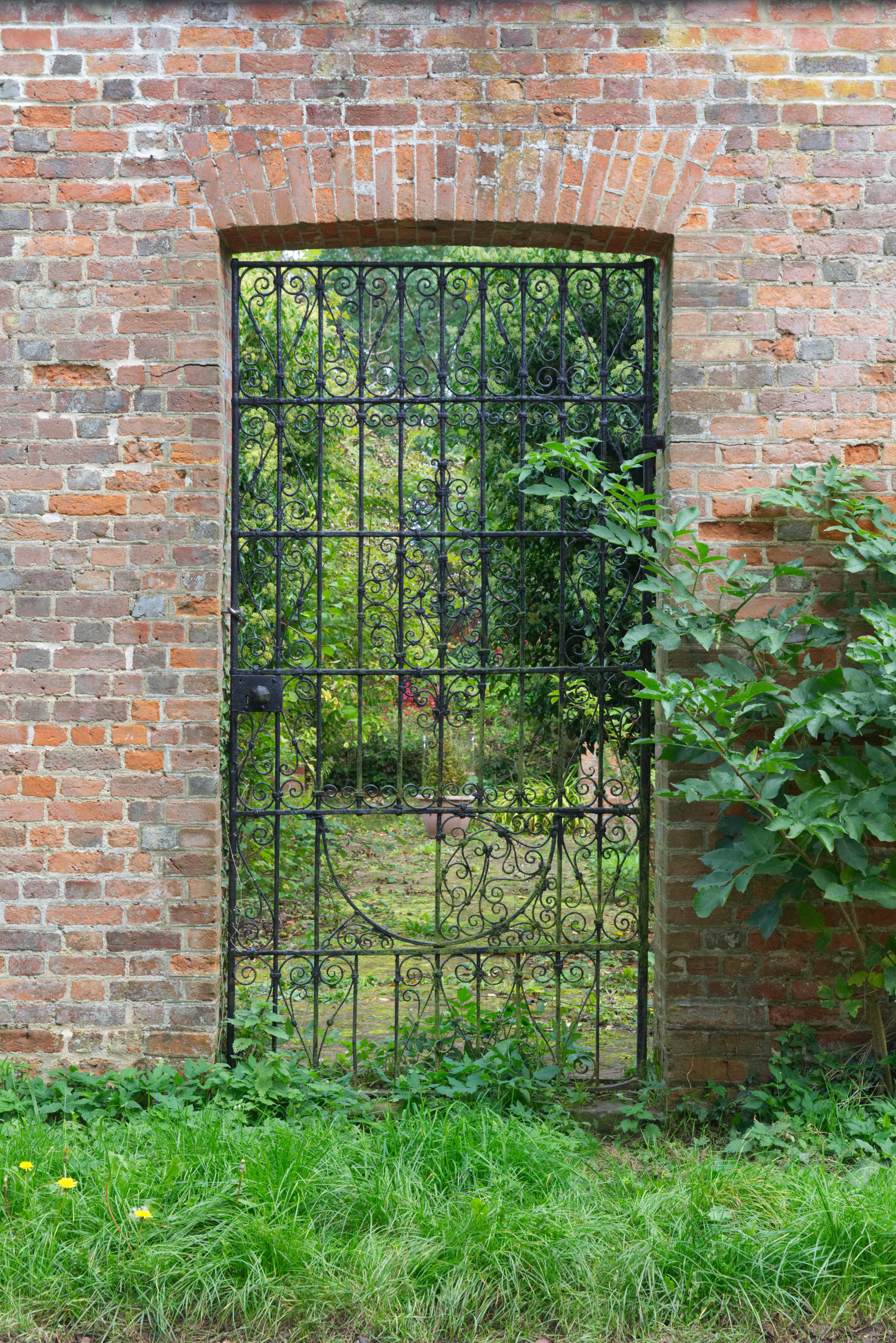 Iron Gate in the Walled Garden