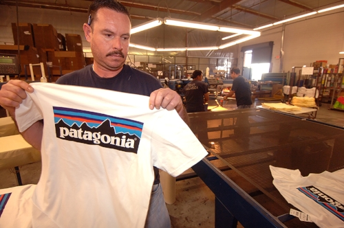 Patagonia outsources the manufacturing of their organic t‐shirts to Compton‐based (L.A) Nature USA who use natural, environmentally friendly dyes when printing logos onto their t‐shirts. Patagonia moved entirely to organic cotton in 1996.