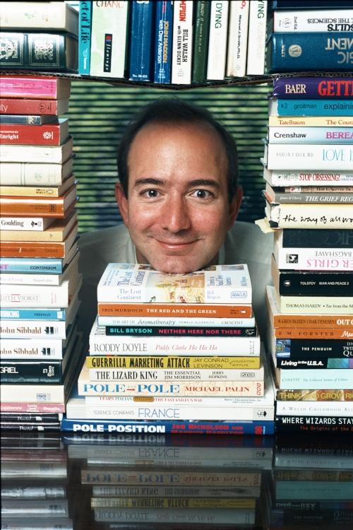 Jeffrey Bezos, founder of Amazon.com