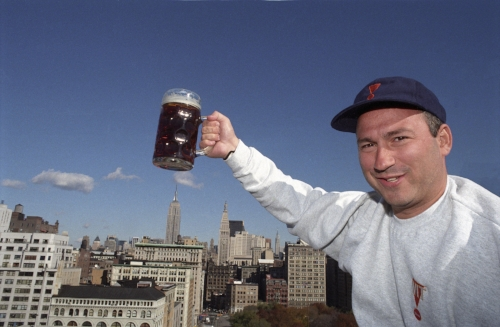 Andrew Klein, founder of Witbeer.com (based in Manhattan, NY) an ex-stock broker raised the capital for his Witbeer corporation by offering shares over the internet.