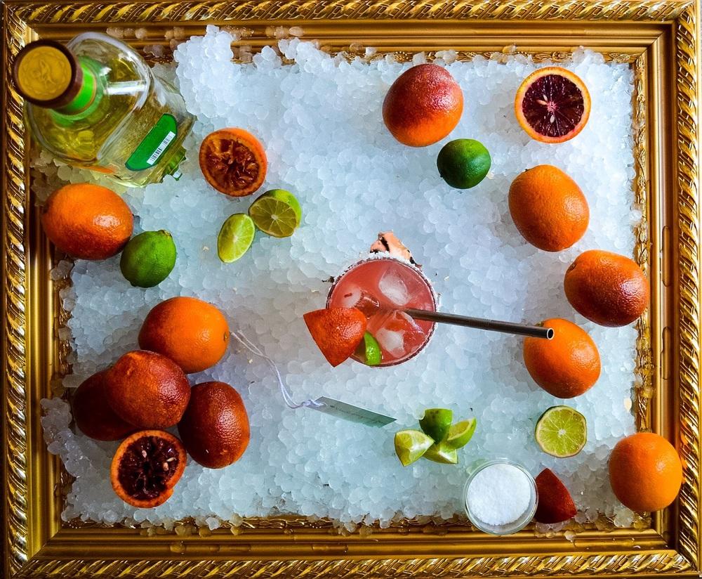 Paleo Blood Orange Margaritas