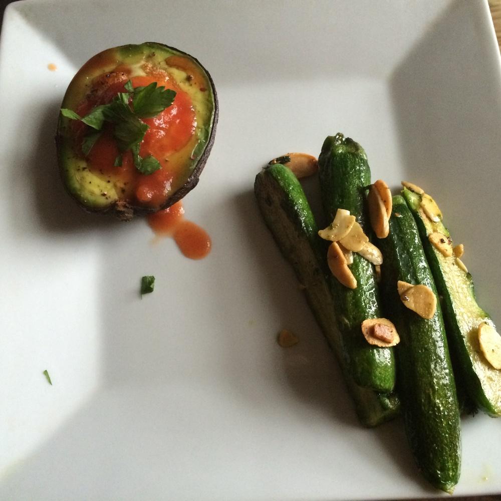 almond zucchini saute