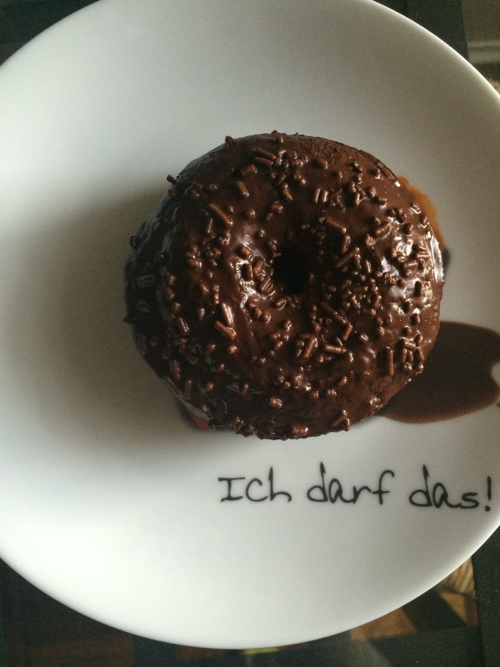 A subtle message from my lovely German grandmother