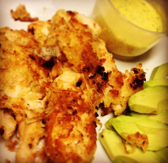 """My first Paleo meal, with the caption """"Trying this Paleo thing"""""""
