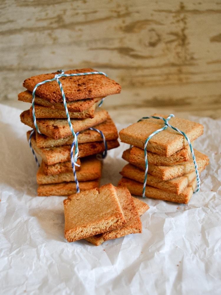 Grain-Free Cinnamon-Sugar Graham Crackers