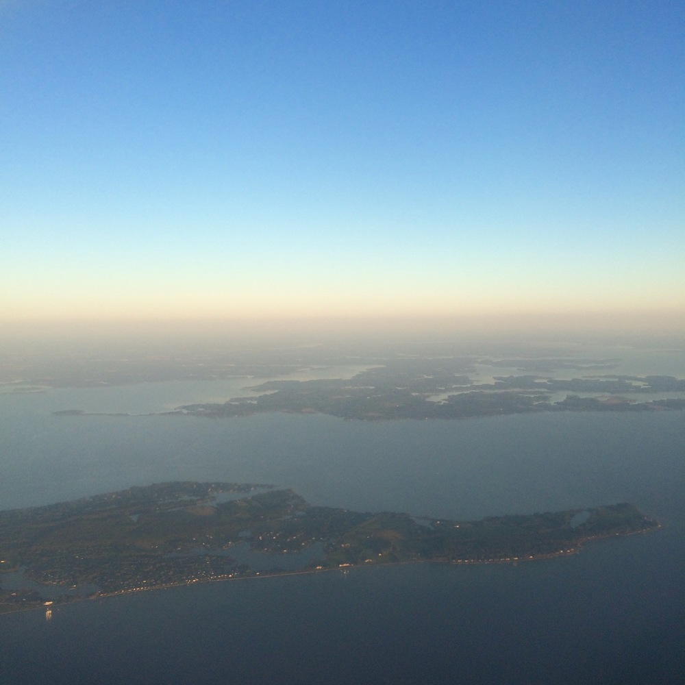 The Chesapeake Bay from above