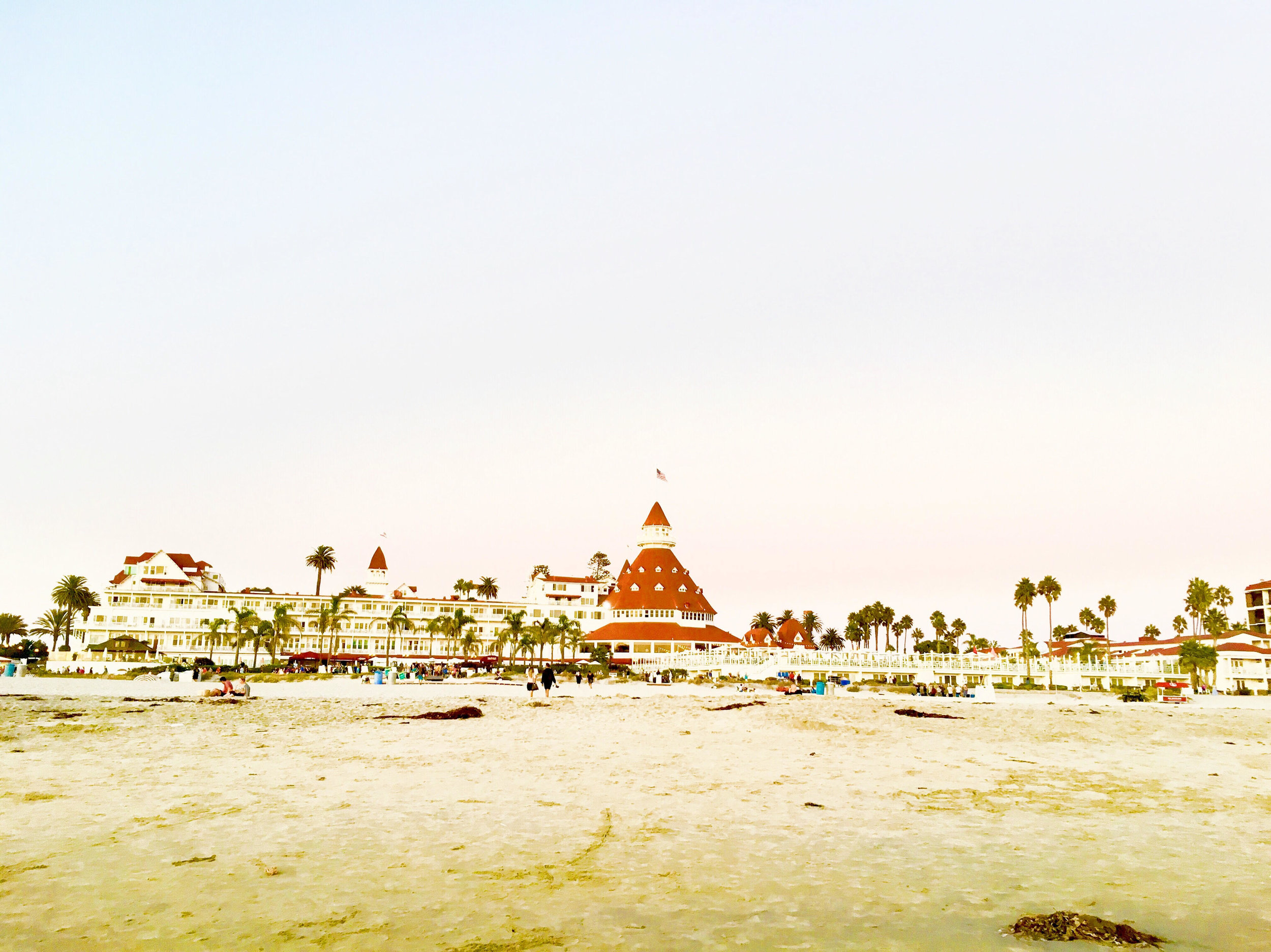 Photo from the Hotel Del Coronado taken earlier this year.