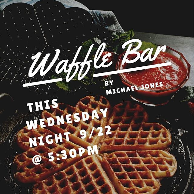 Don't get caught waffling on this. You butter get here early so you don't miss out.