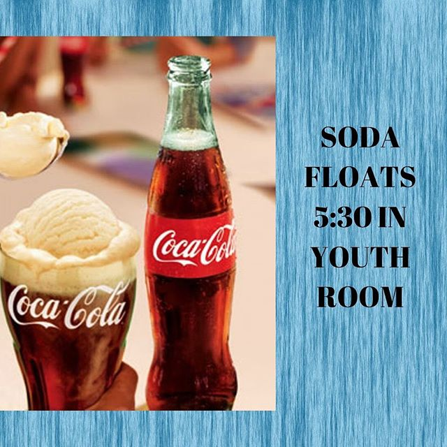 Got a few things coming up in the near future. Students, don't miss out on Soda Floats tonight and Game Night Friday. Parents, please make plans to be at the Parent Meeting. I need at least one parent for each student. It will be quick, right before LIFE Groups.