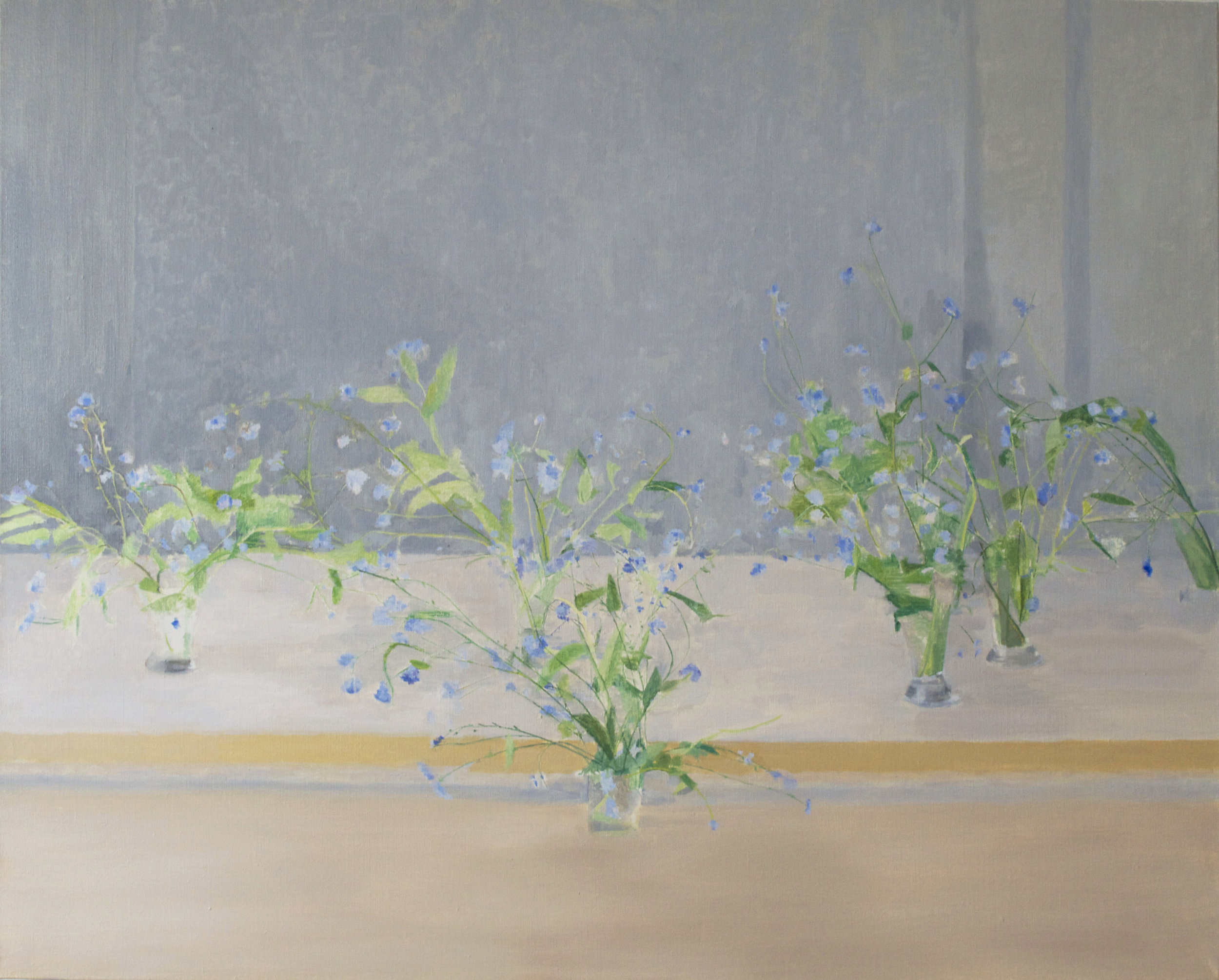 </strong><em>Forget Me Not</em> <br/> 2015 <br/> oil on canvas <br/>86.5 x 106cm<strong>