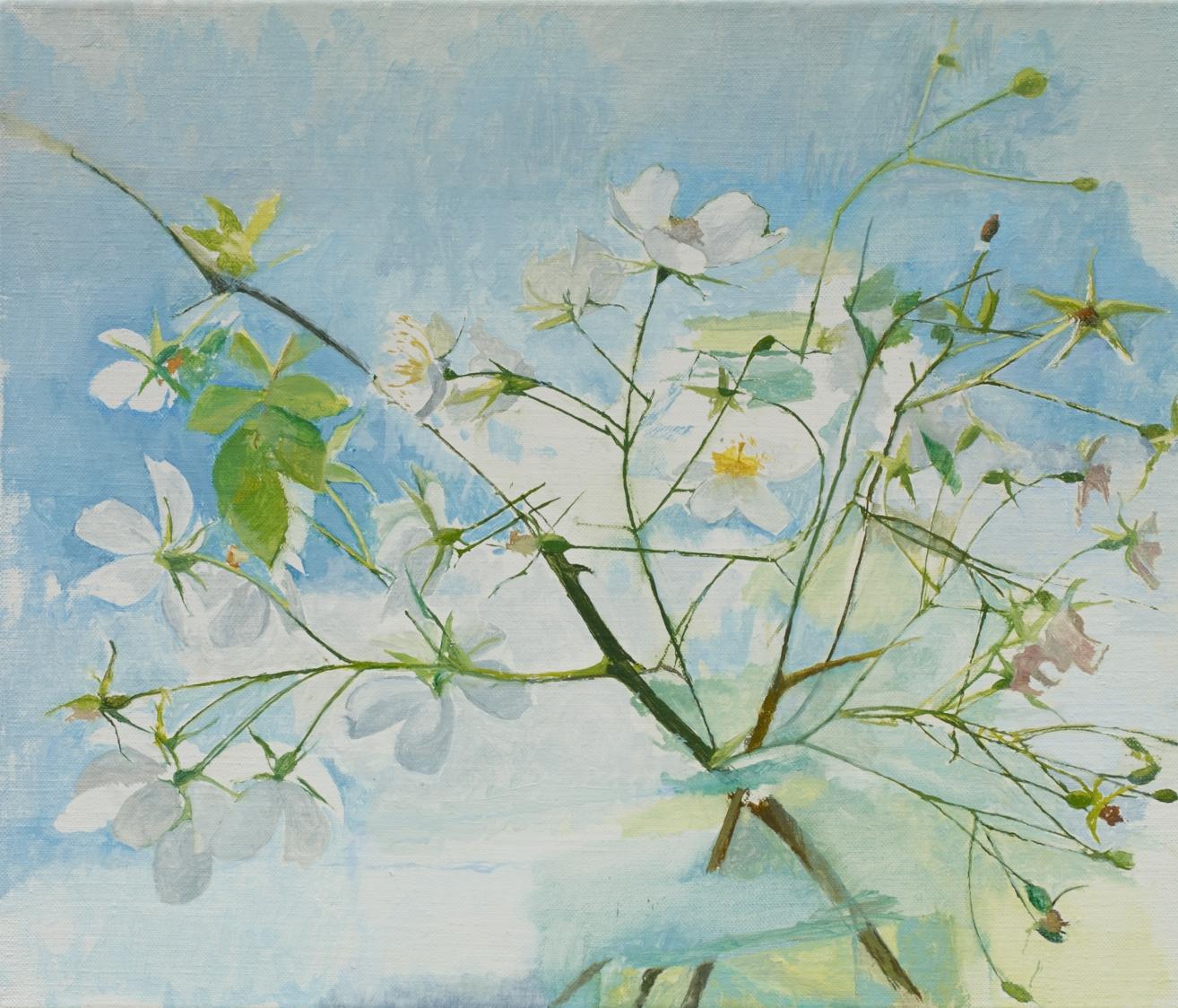 </strong><em>June to July</em> <br/> 2016 <br/>oil on canvas<br/>31 x 36cm <strong>