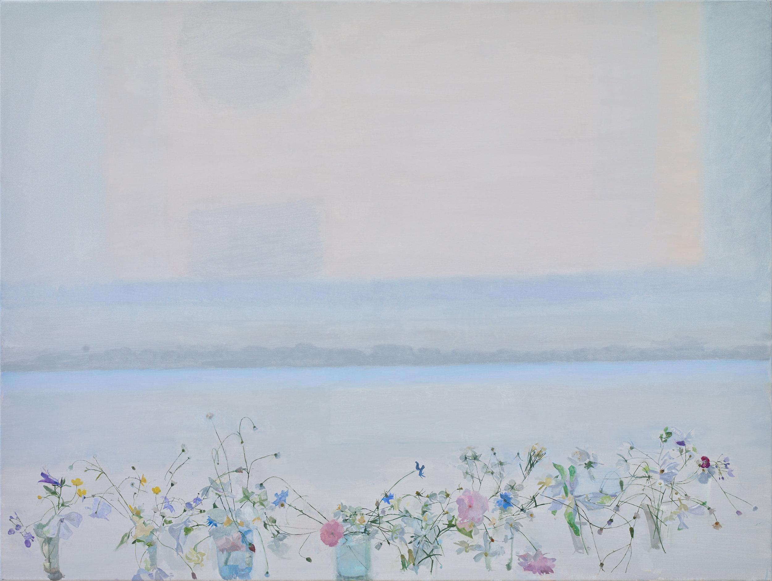 Summer Growth, 2017, oil on canvas, 90 x 120 cm