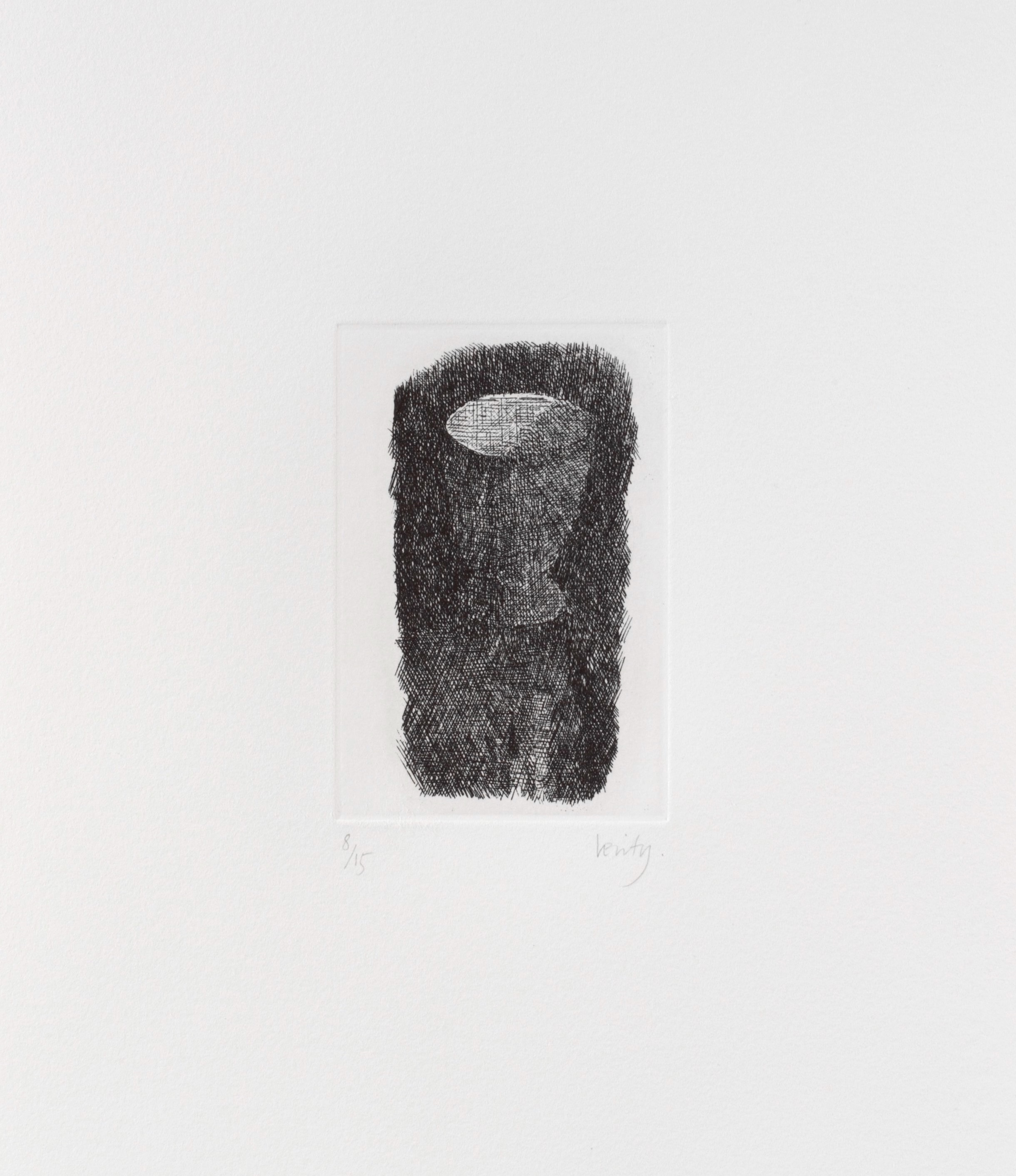 Cup  2006 etching  32 x 25 cm