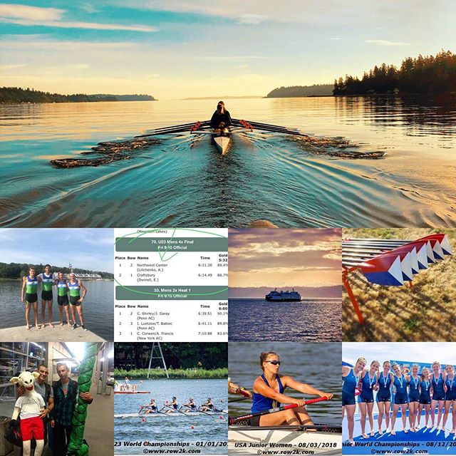 Memories from a busy - but awesome - summer as we head(race) into fall ... #summerwrapup #rowing #rowinglife #rowingrelated #aviron #rudern #canottaggio #roeien #remo #pacificnorthwest