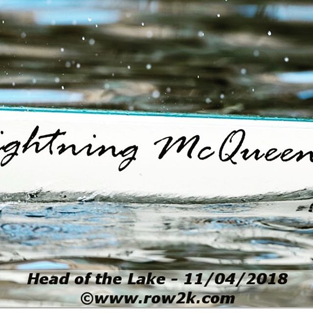 Hey @bbrc_juniors, look what we found on @row2k from @hotlregatta !! Tfw one of your boat names makes a row2k gallery (shout out to  @waypointsignco) ⚡️❤️😊 #rowing #rowingrelated #rowingpost #boatnames #lightningmcqueen #rowingboat