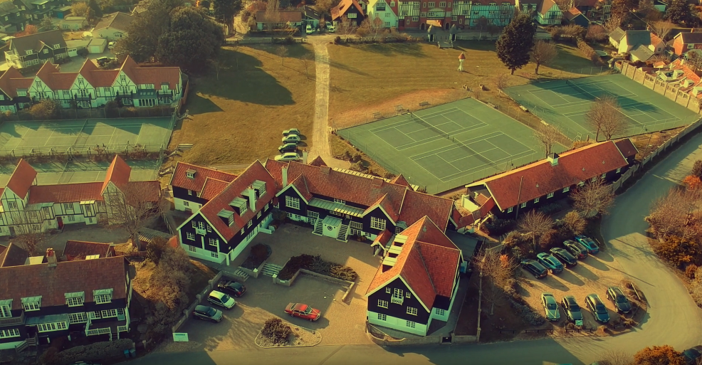 Image: Thorpeness Country Club from above!