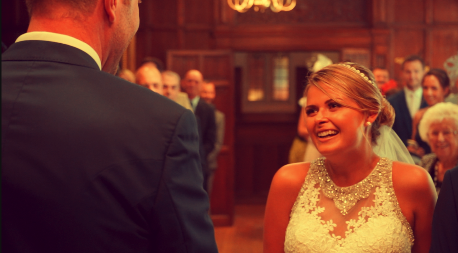Image: Walking down the aisle - so many emotions in one shot!