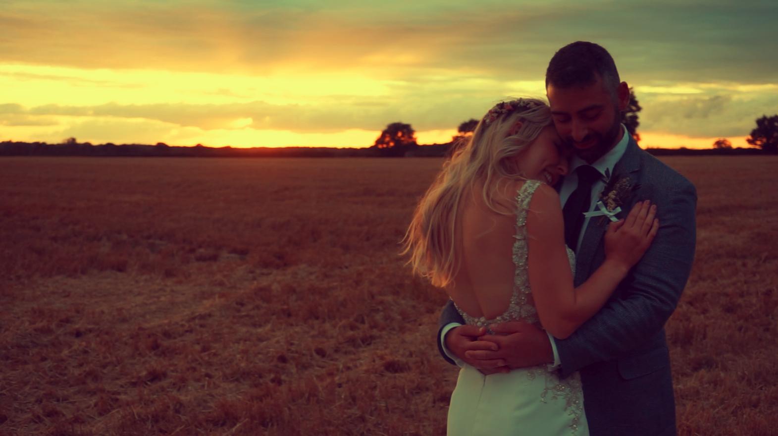 Image: Amber & Chris's wedding film shot in Wroxham & The Octagon Barn in Norfolk