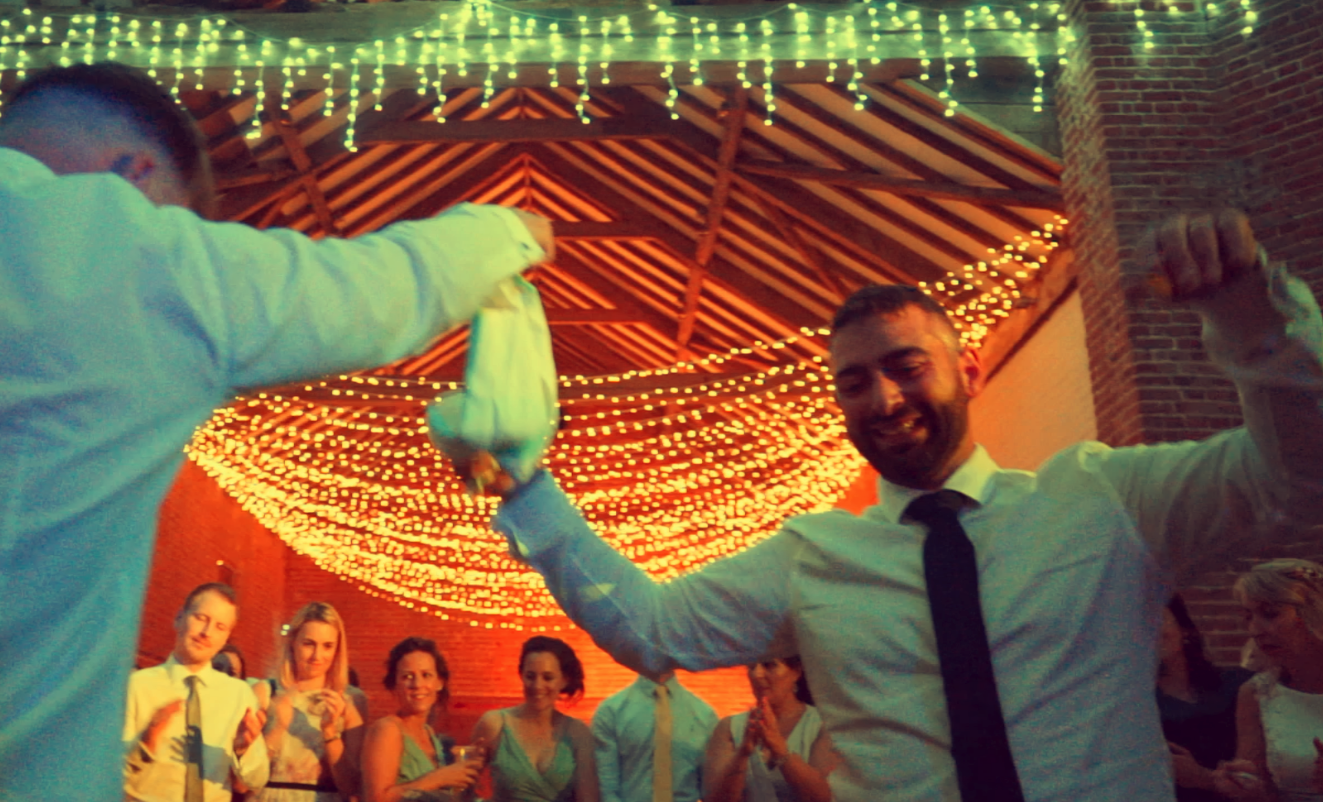 Greek Wedding Film Norfolk - By Race wedding Videography