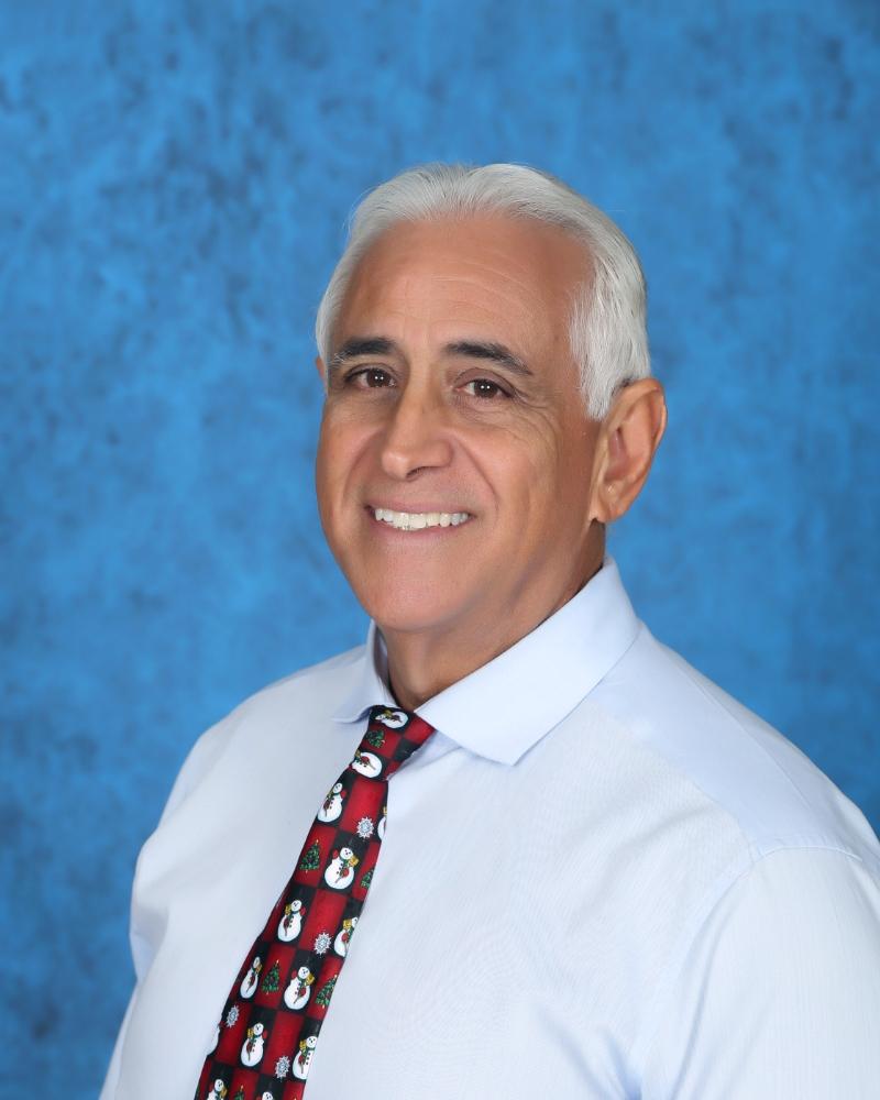 Eduardo Tillet  Assistant Principal of Dr. Edward L. Whigham Elementary