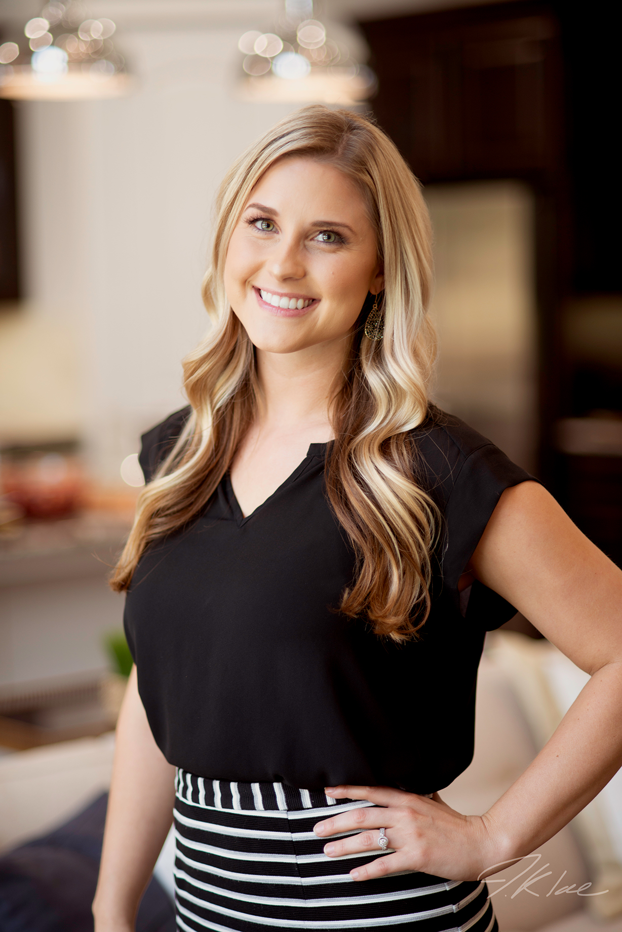 Professional Headshot of Young Female Realtor