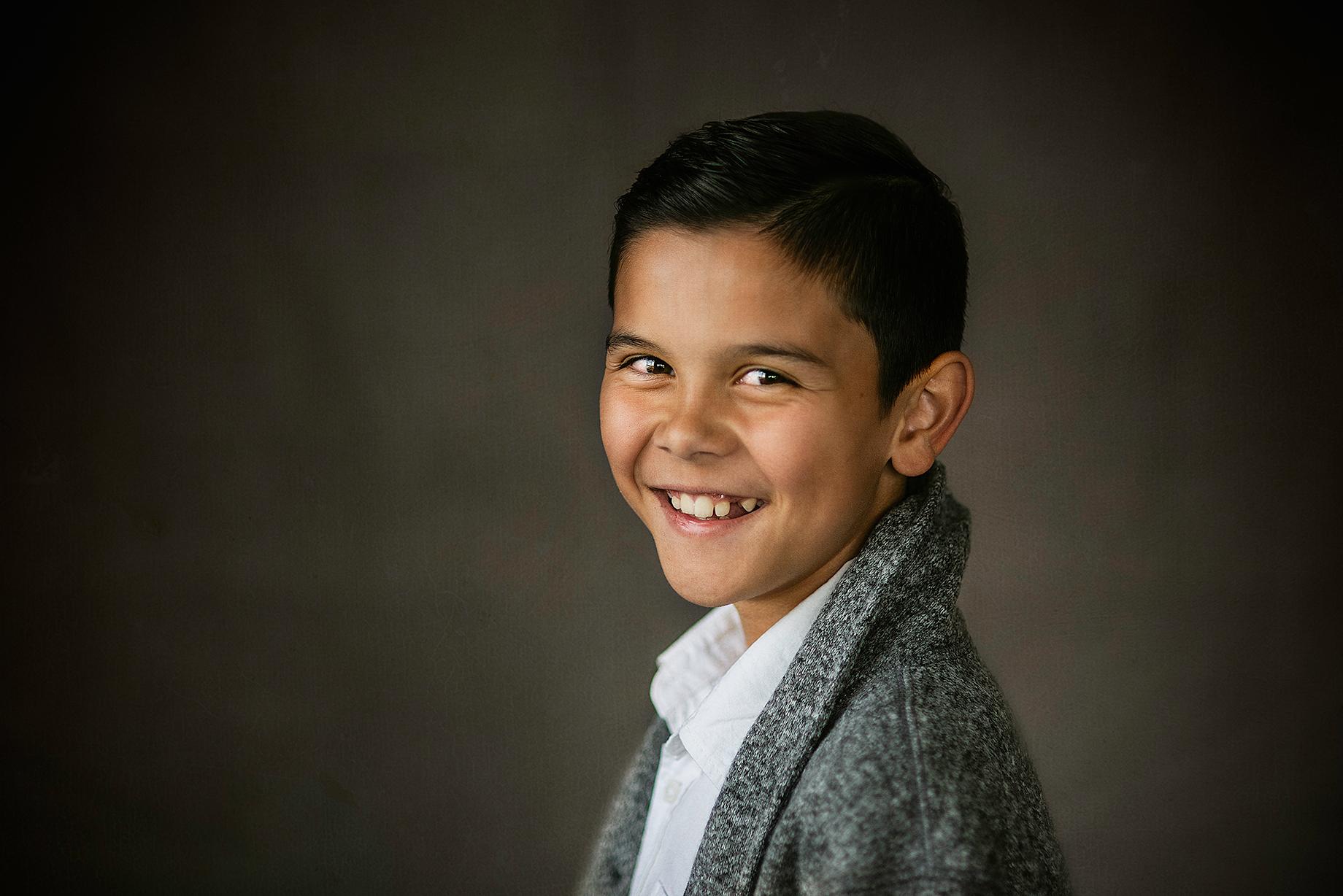 McKinney Texas In Studio Fine Art Portrait of a Boy