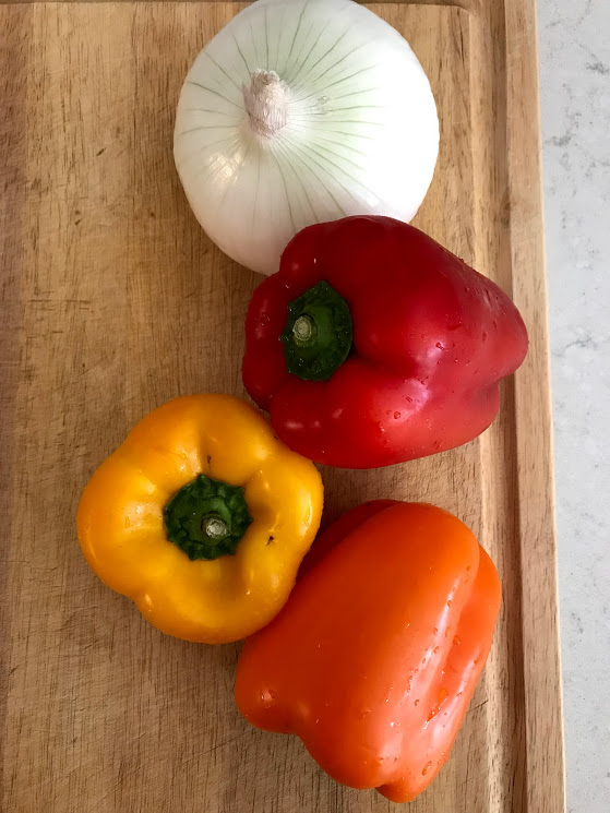 I love the colors of peppers...