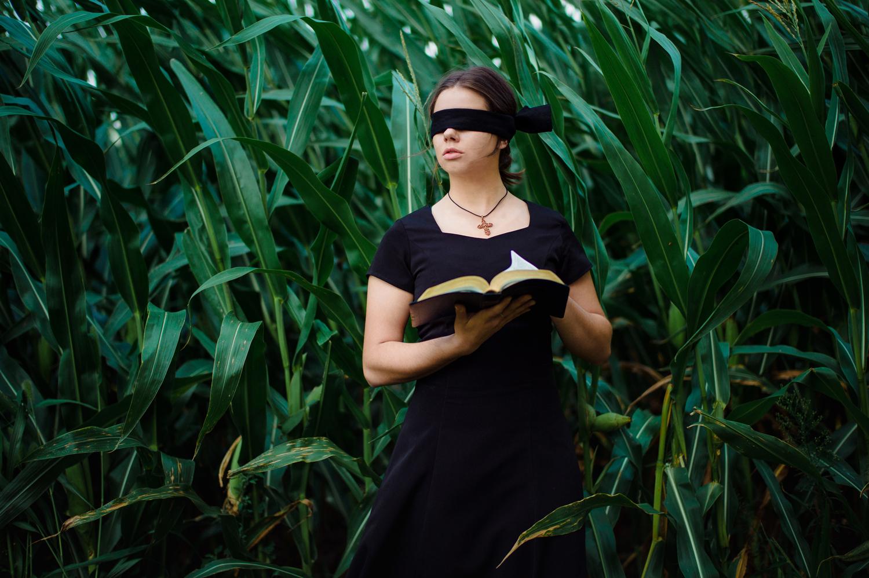 Walk By Faith   Model:  Emily Drew Miller
