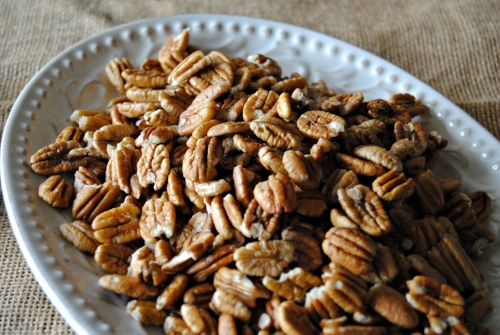 Our gorgeous Oklahoma-grown native farm fresh pecan halves. They are the perfect healthy snack.