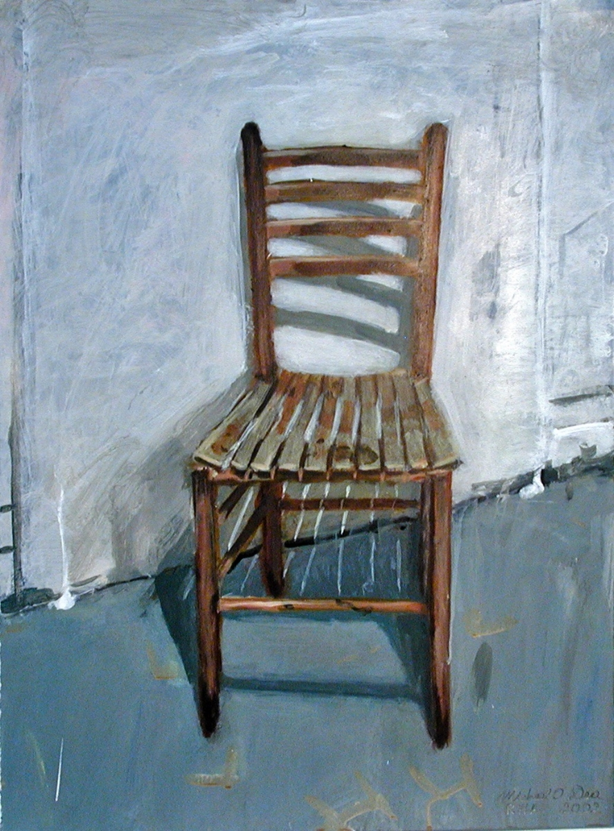 'New England Chair' Acrylic