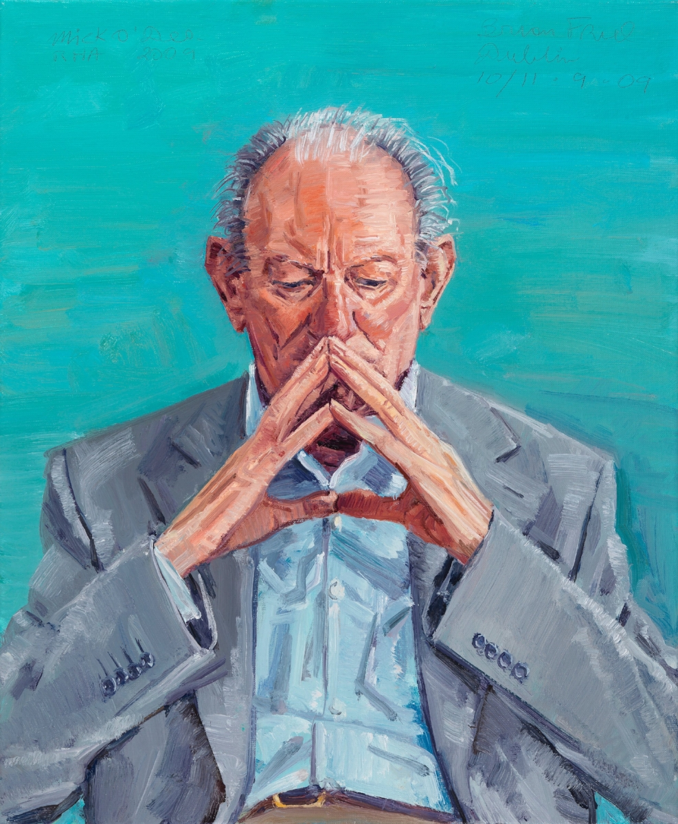 Brian Friel, Collection of The National Gallery of Ireland, Oil on Canvas