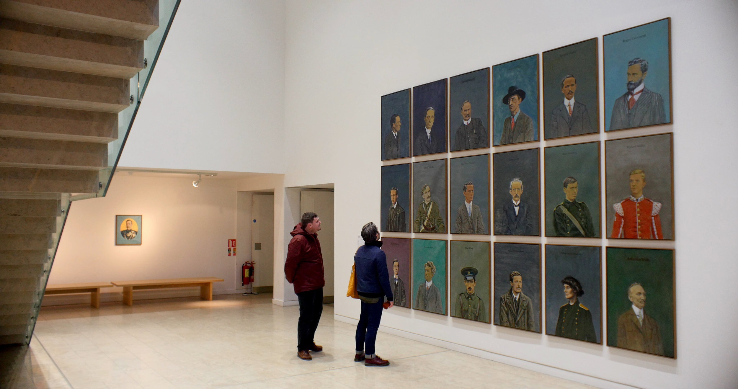 The 1916 Portraits, Image courtesy of Emile Dinneen