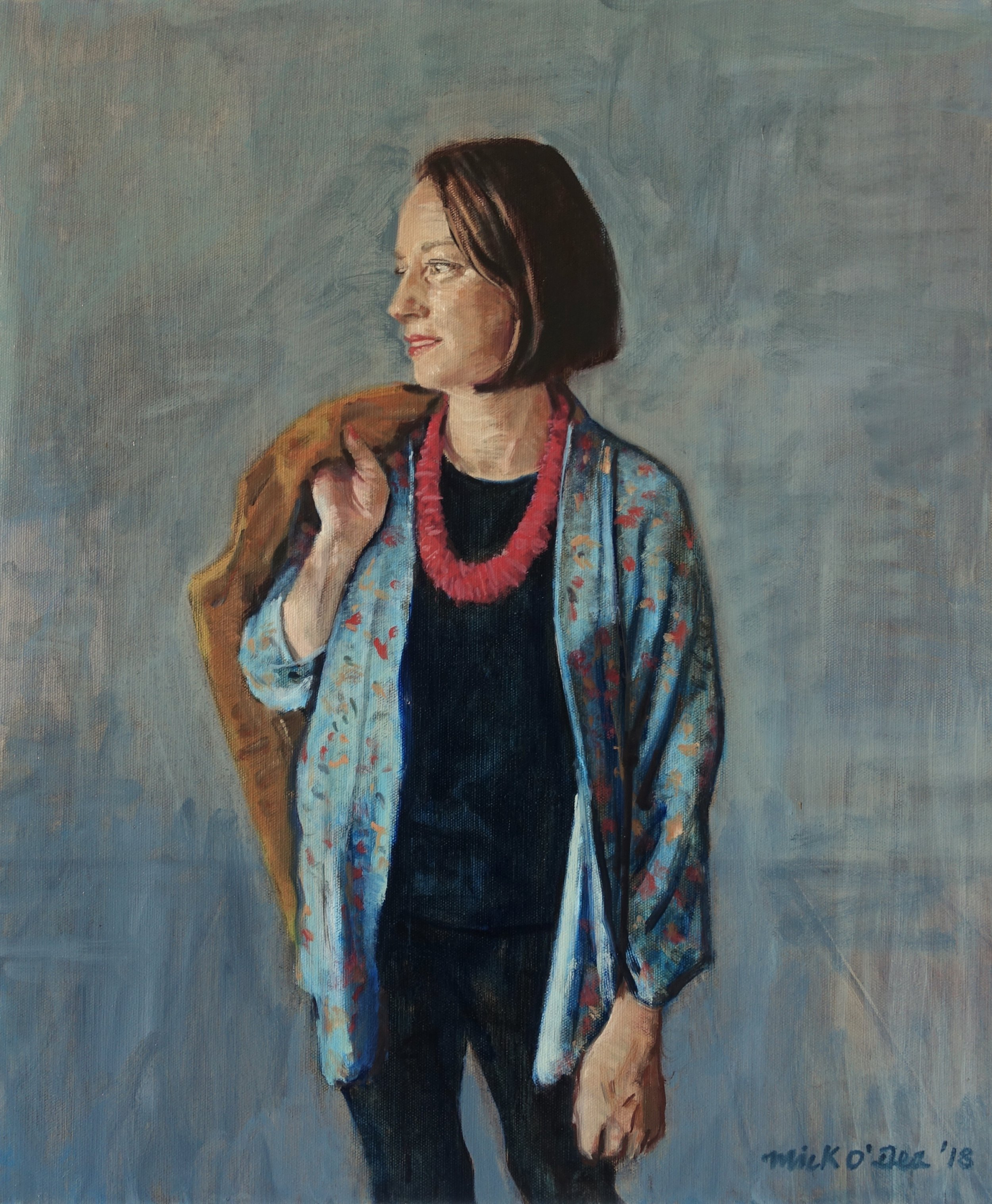 Michelle Kavanagh, Oil on Canvas