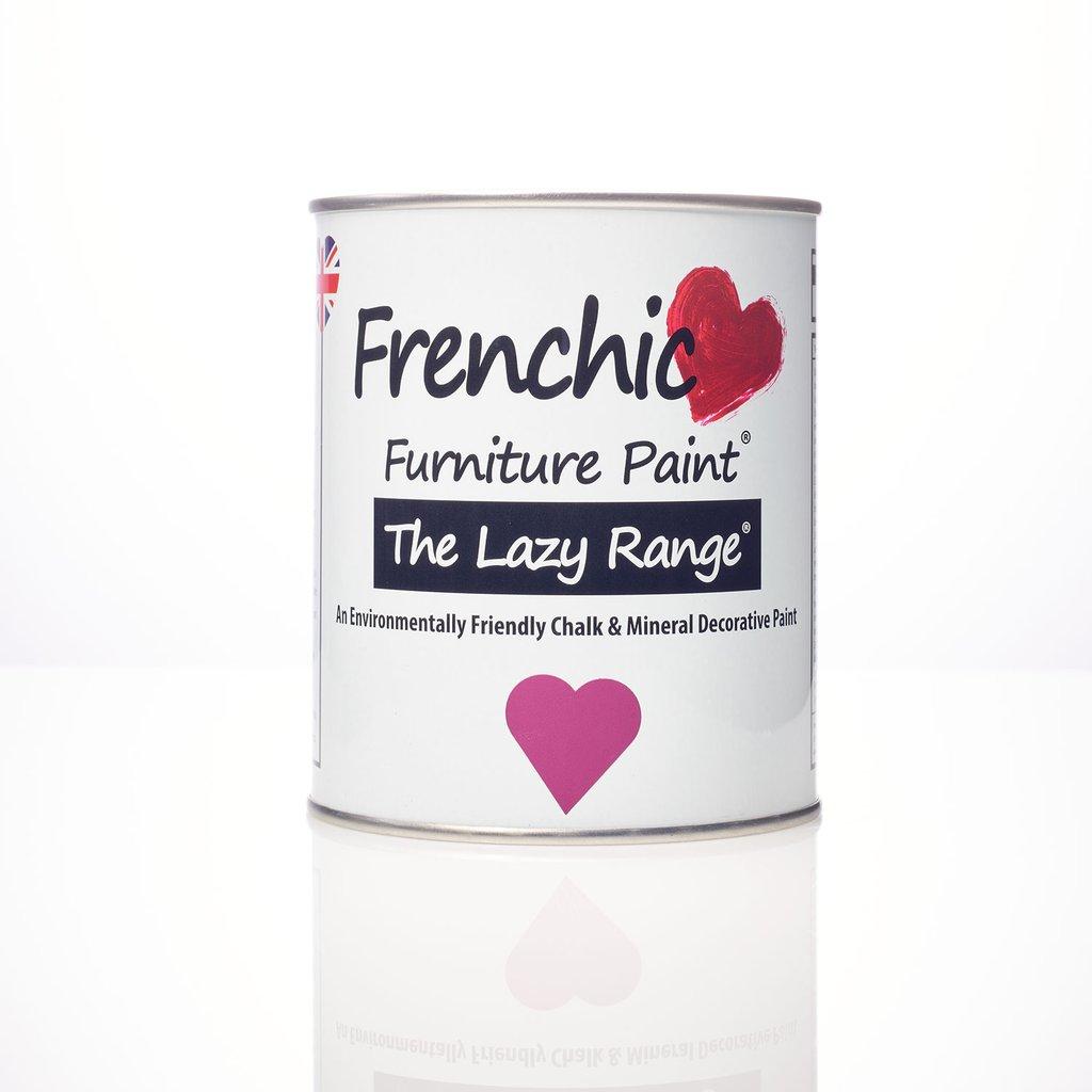 Lazy Range - vahallinen Chalk Paint huonekaluille, sisäkäyttöön. Kuvassa 'Plum Pudding' -luumun sävy