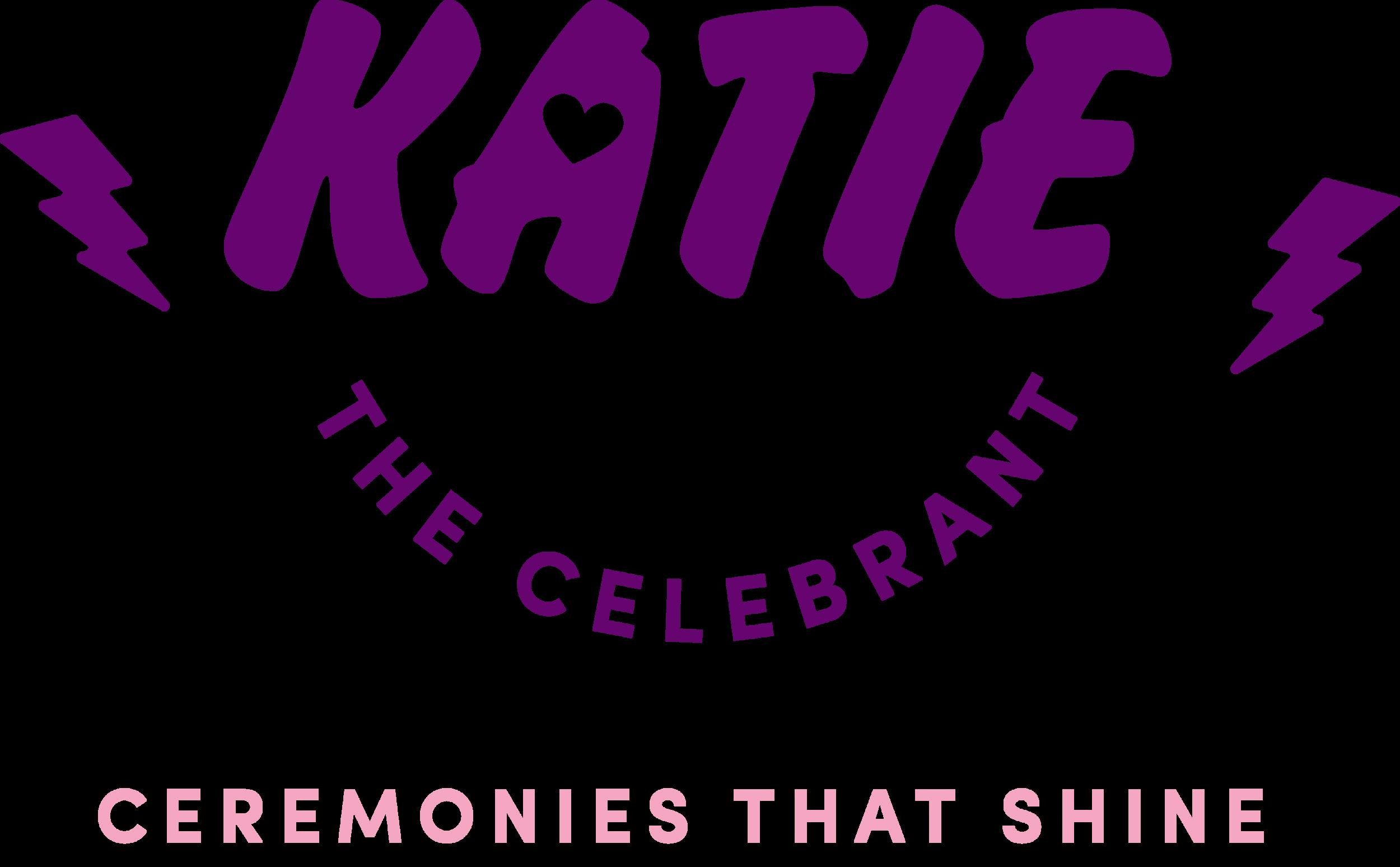 Katie the celebrant logo