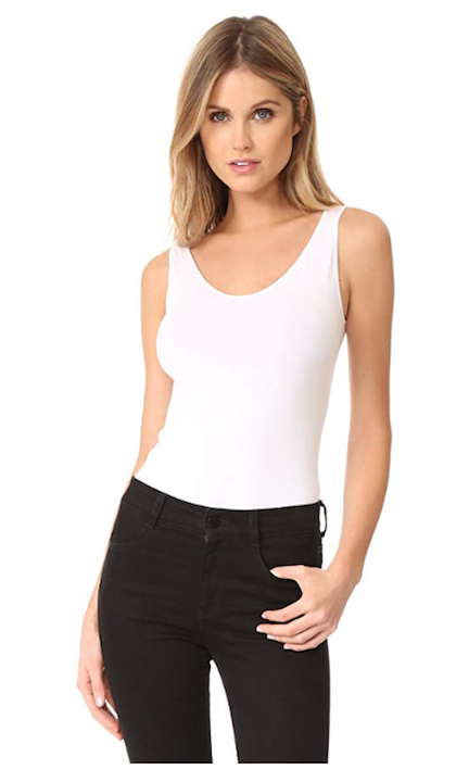 Wolford Women's Viscose String Bodysuit.png