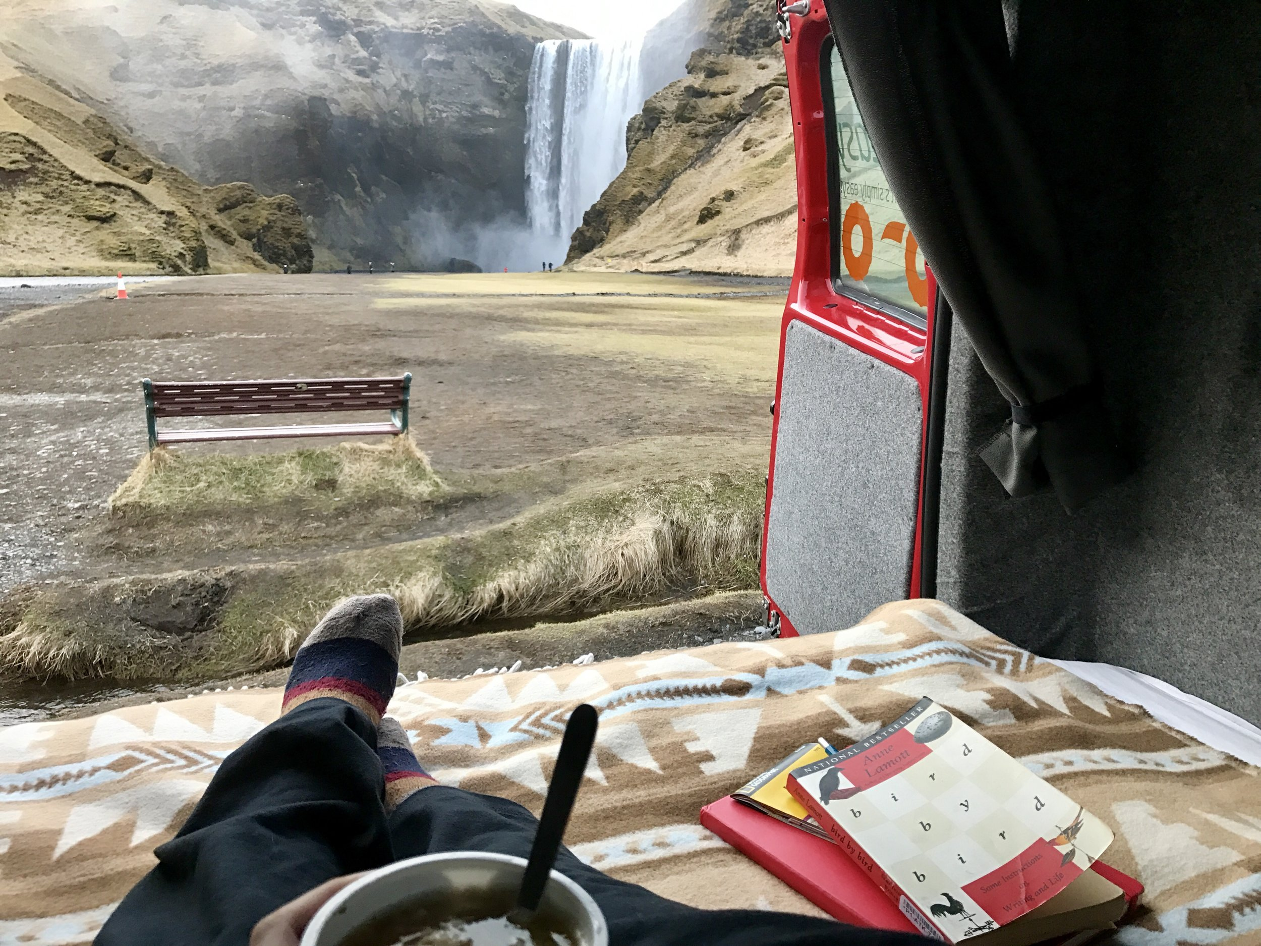 Camping alone through Iceland for eight days in 2017
