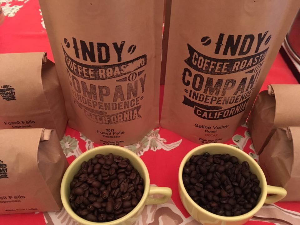 Indy Coffee Roasting Company sells organic roasted coffee beans in foiled Kraft bags with degassing valves. We believe this method of packaging keeps the coffee the freshest and as close to its peak flavor.