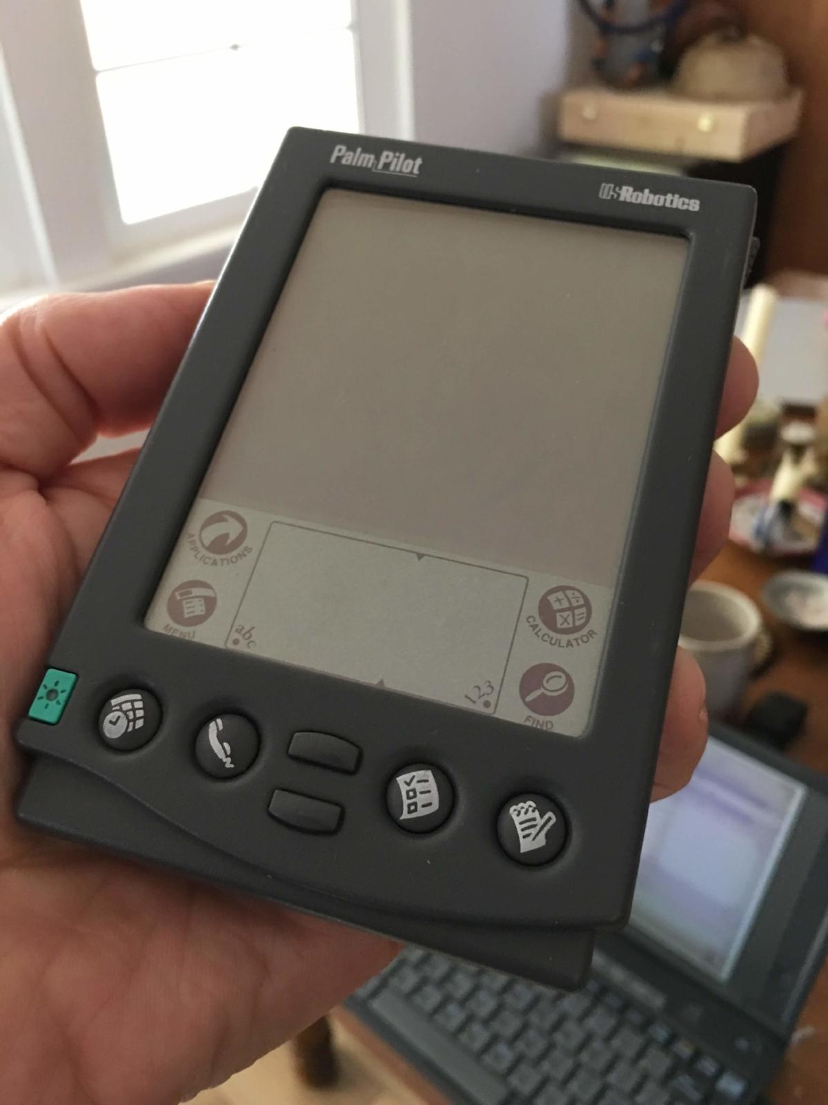 The original Palm Pilot.