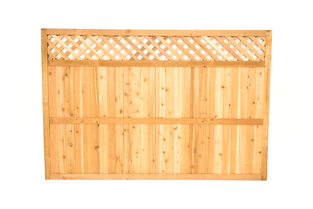 diamond lattice top panel 6x6'