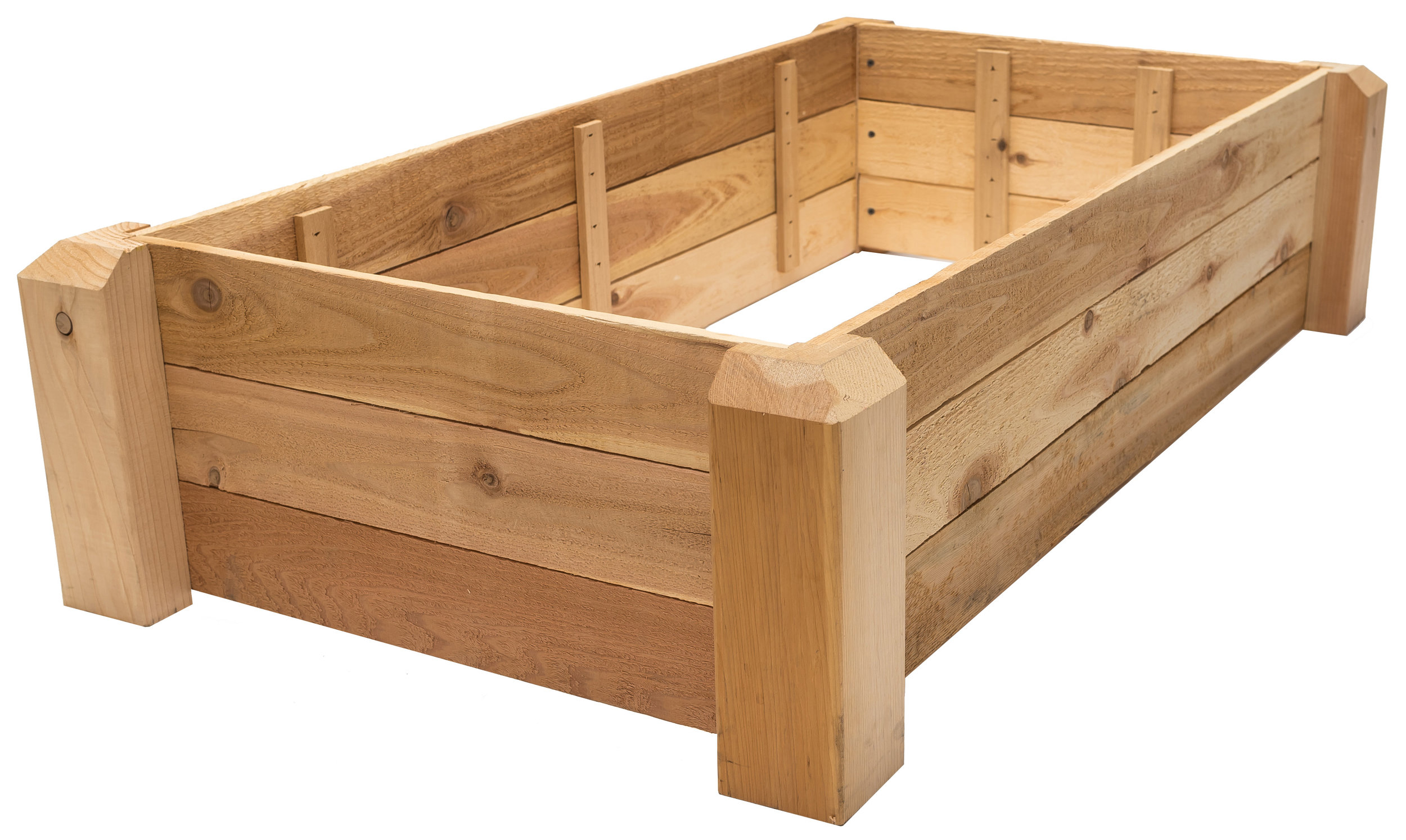 raised bed 2'x4' height: 10.5""