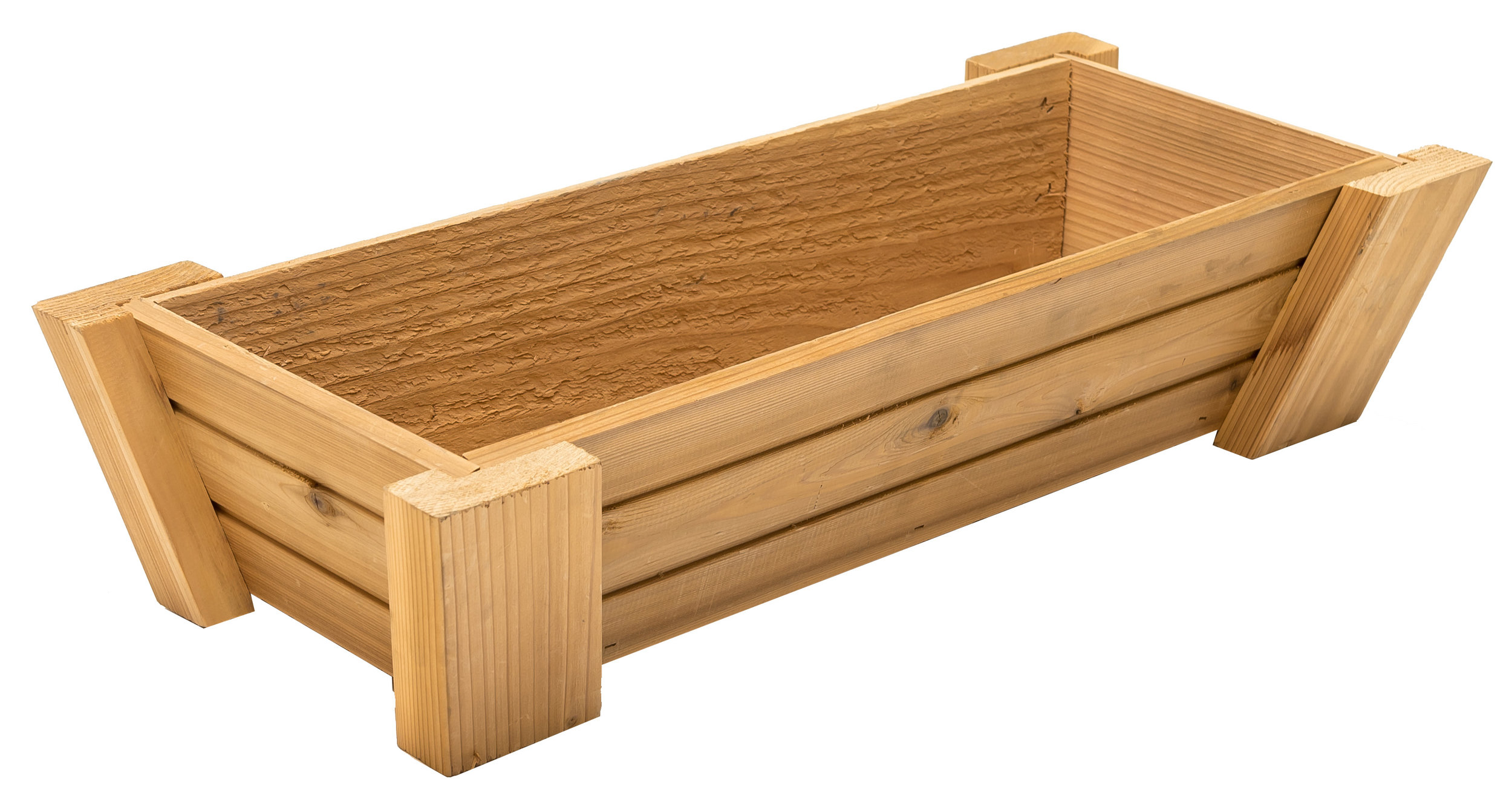 "tapered window box 26"" dimensions: 11""x26""x6"""