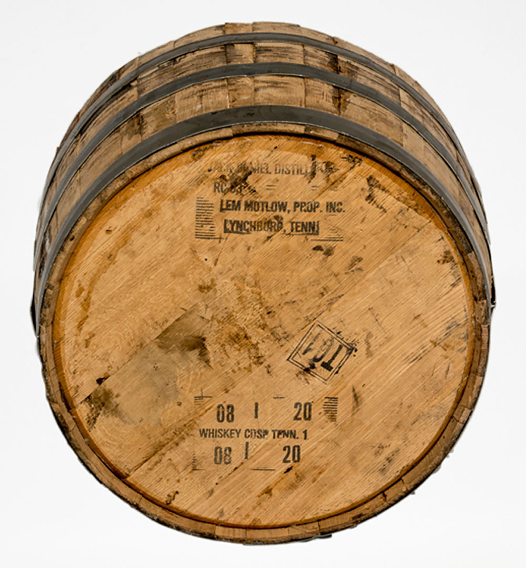 Real Wood - Lawn and Garden - Oak Barrels - Half Oak B100 - White Background (Bottom View).jpg