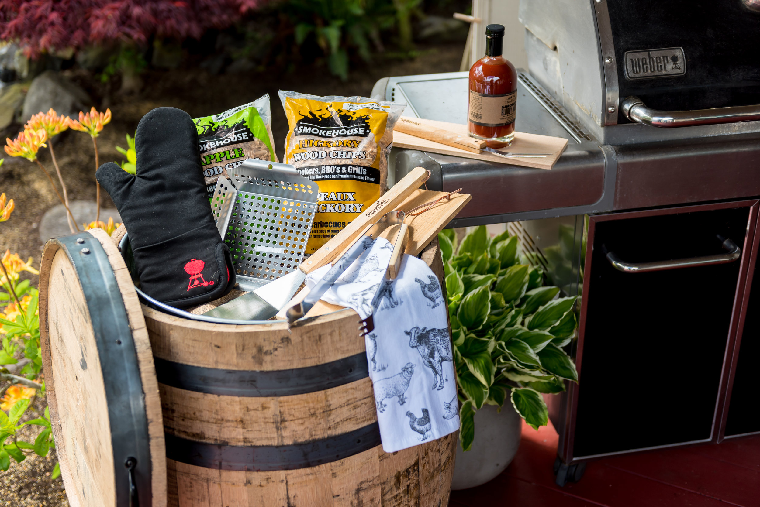 Real Wood - Lawn and Garden - Oak Barrels - Multi-Use Whiskey -B220 - Application (Grill 4).jpg