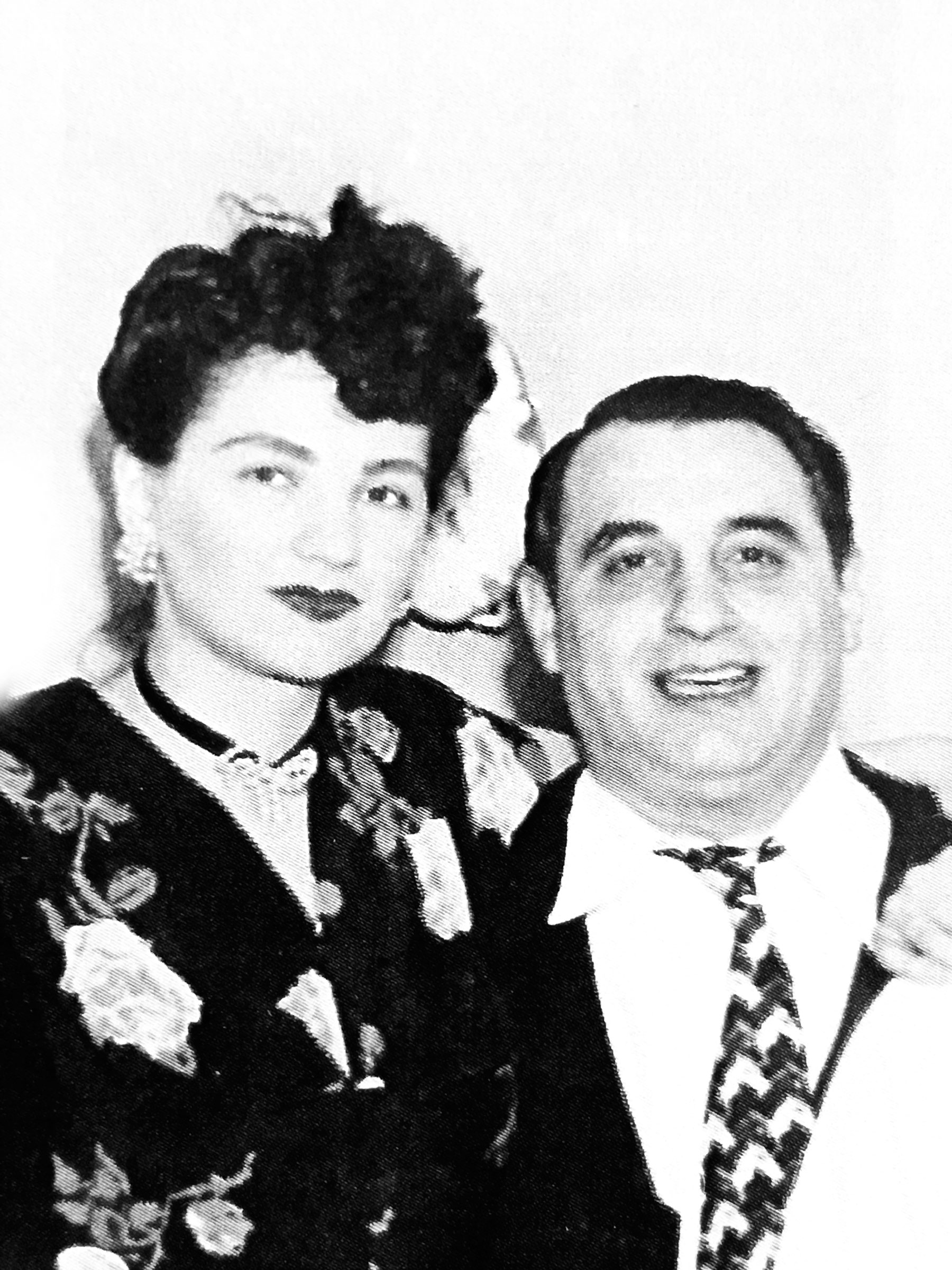 Sue Granata Ross and husband Paul C. Ross in the late 1940s.