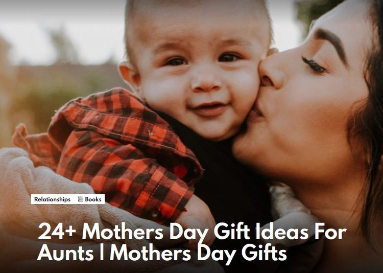 24+ Mothers Day Gift Ideas For Aunts - Fupping