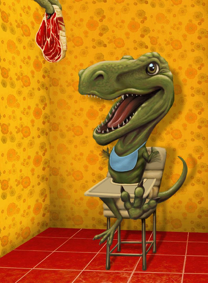 """Baby Rex"""