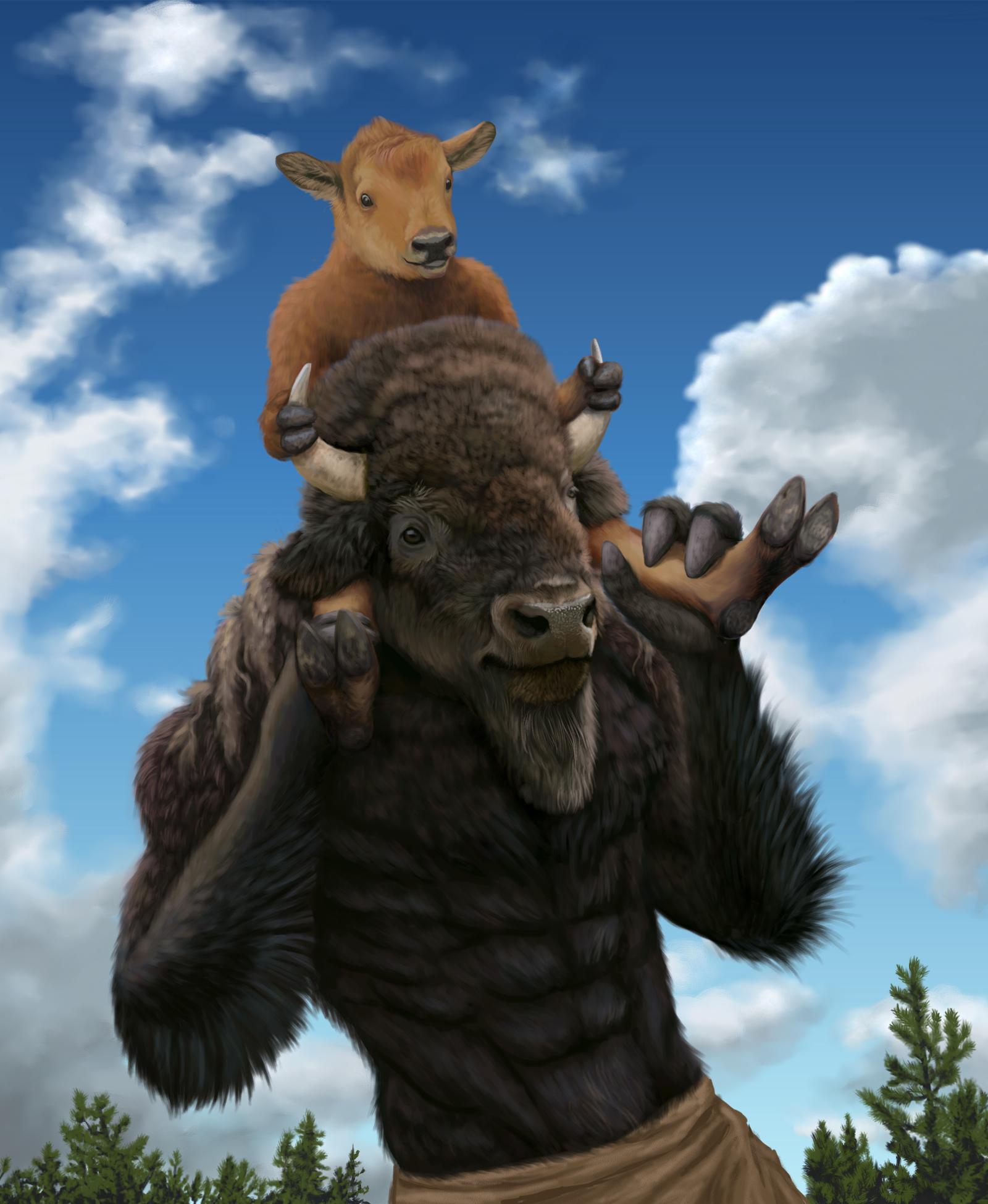 """""""Bison-back Ride"""""""