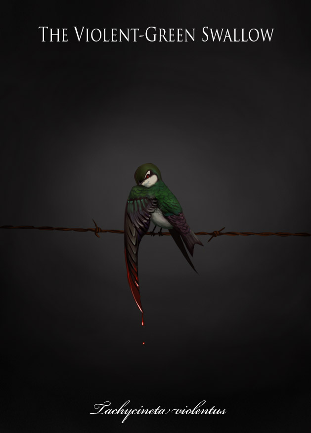 """The Violent Green Swallow"""